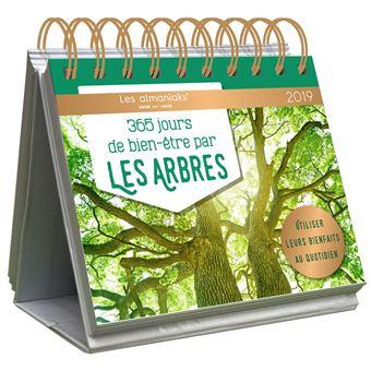 """Almanach 2018 """"365 jours de bien-être avec les arbres"""""""